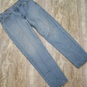 LEVIS 550 MENS RELAXED TAPERED JEANS SIZE 36X34